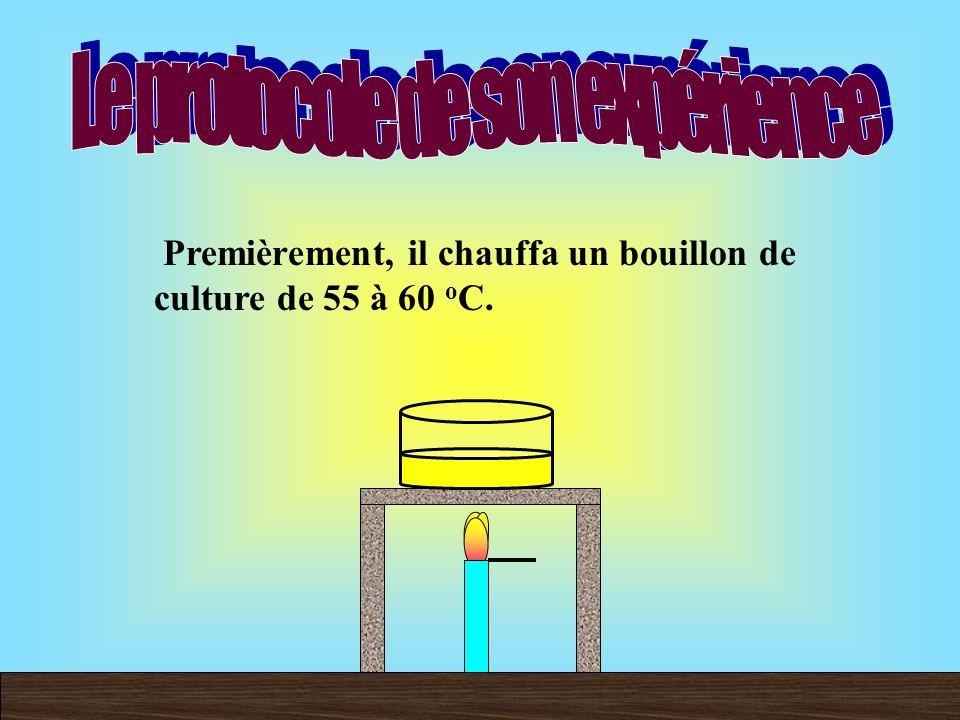 Louis Pasteur prouva que la théorie abiogénèse était fausse car son expérience démontre que les microbes flottaient dans lair et que la vie provient dune vie préexistante.