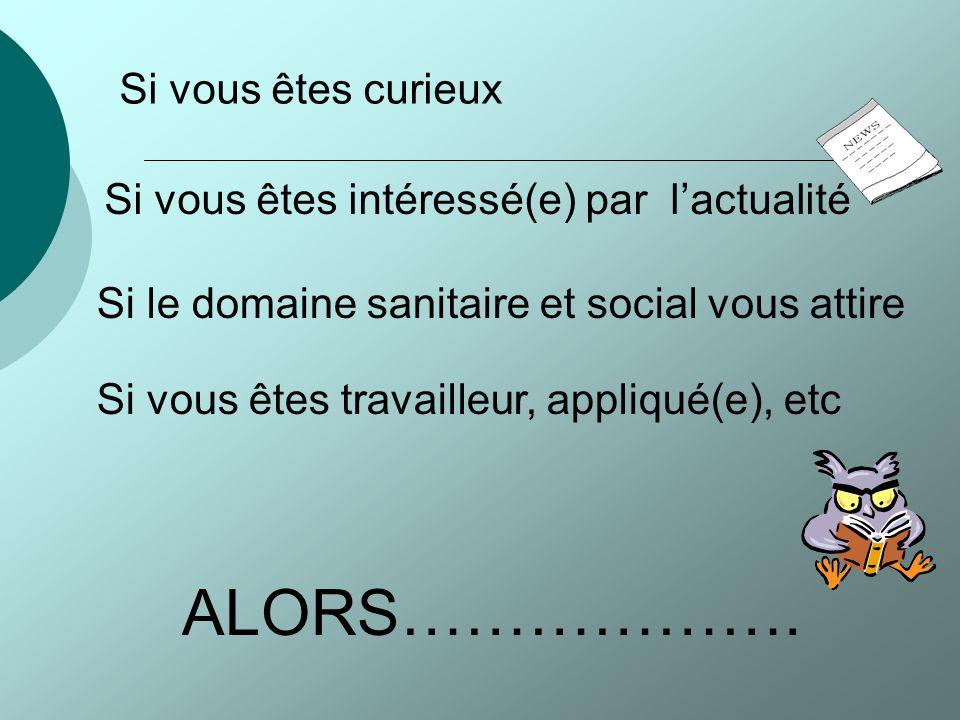 Bienvenue au sein de la section ST2S du Lycée Gabriel FAURE D ANNECY