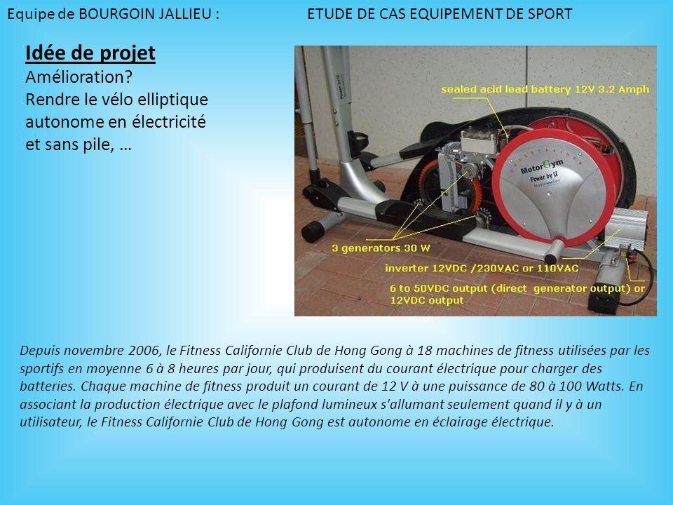 Depuis novembre 2006, le Fitness Californie Club de Hong Gong à 18 machines de fitness utilisées par les sportifs en moyenne 6 à 8 heures par jour, qu