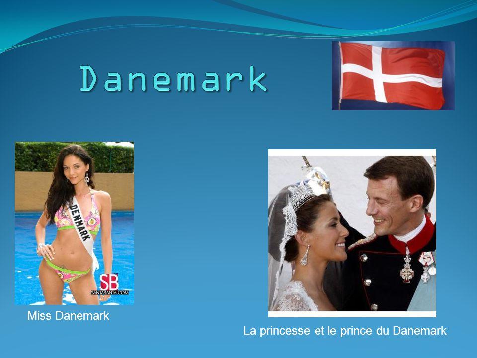 Miss Danemark La princesse et le prince du Danemark