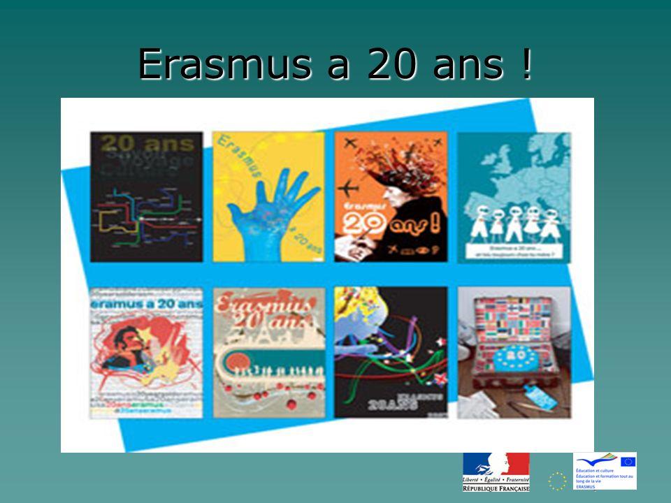 Erasmus a 20 ans !