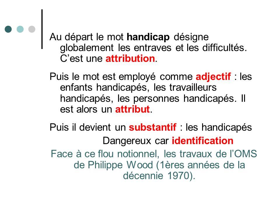 Classification de lOMS de 1980 adoptée par la France en 1989.