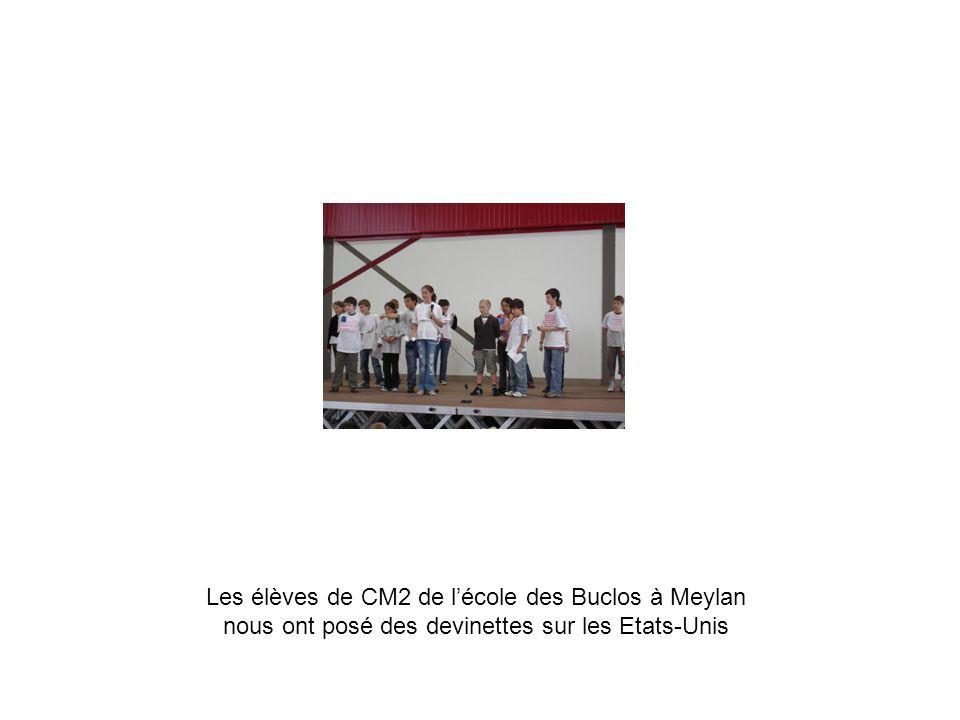 Les élèves de CM2 de lécole des Buclos à Meylan nous ont posé des devinettes sur les Etats-Unis