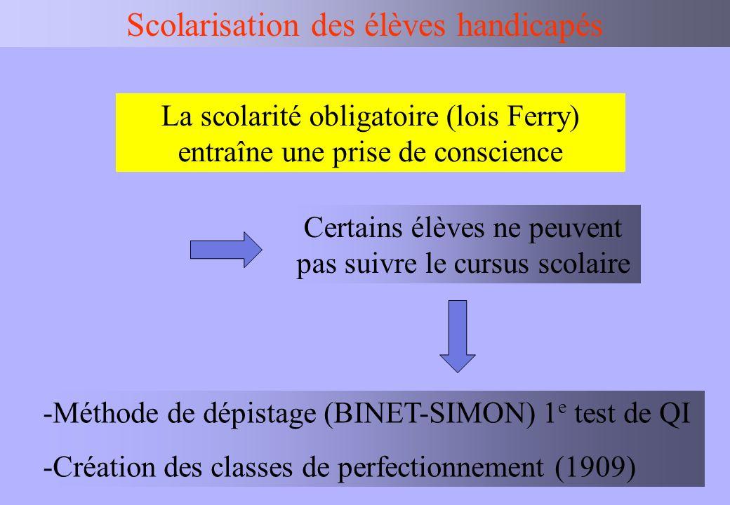 IEN BV Scolarisation des élèves handicapés Textes de référence : Loi 2005-102, décrets 2005-1587, 2005-1589, 2005- 1752.