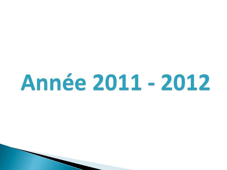 Année 2011 - 2012