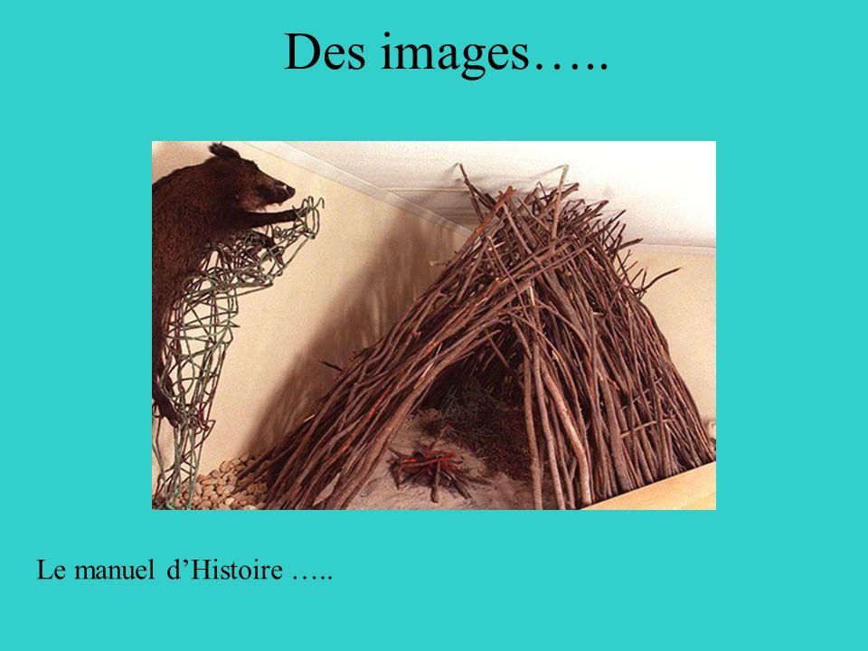 Le manuel dHistoire ….. Des images…..