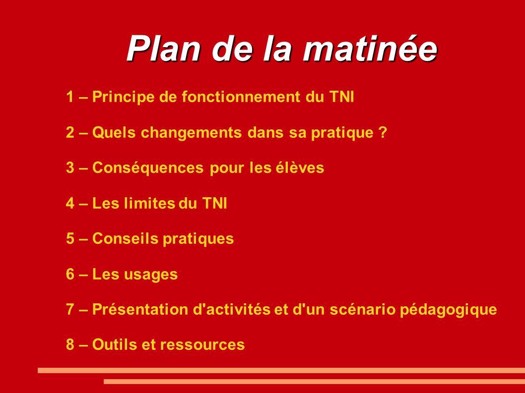 8 – Ressources - Rubrique TNI sur le site de l IEN : http://ienpassy.edres74.ac- grenoble.fr/spip.php?rubrique145http://ienpassy.edres74.ac- grenoble.fr/spip.php?rubrique145 - Logiciels vidéo-projetables : http://circ41-blois4.tice.ac-orleans- tours.fr/php5/spip.php?article204http://circ41-blois4.tice.ac-orleans- tours.fr/php5/spip.php?article204 - Enseigner et apprendre avec le TNI : http://www.agence-usages- tice.education.fr/template.asp?page=12&id=5http://www.agence-usages- tice.education.fr/template.asp?page=12&id=5 - Explications et proposition de fichiers pour tableau blanc Interwrite : http://www.les- coccinelles.fr/tableaublancinteractif.htmlhttp://www.les- coccinelles.fr/tableaublancinteractif.html - Travailler avec un tableau interactif : http://phares.ac- rennes.fr/toutatice/article.php?sid=293http://phares.ac- rennes.fr/toutatice/article.php?sid=293 - Utilisation du TBI : un premier bilan et des perspectives : http://md87.ouvaton.org/spip.php?article71 http://md87.ouvaton.org/spip.php?article71 - opération TBI : usages de tableaux blancs interactifs : http://www.pedagogie.ac- nantes.fr/28043937/0/fiche___pagelibre/http://www.pedagogie.ac- nantes.fr/28043937/0/fiche___pagelibre/ - Ressources pour tableau interactif (vidéos, documents.....) : http://www.intertni.fr/http://www.intertni.fr/ - Des fiches pratiques pour utiliser les TNI : http://www.tice.ac- versailles.fr/Memento,224.htmlhttp://www.tice.ac- versailles.fr/Memento,224.html - Ressources pour le TNI : http://www.ressources91.ac- versailles.fr/index.php?page=ressources-pour-tnihttp://www.ressources91.ac- versailles.fr/index.php?page=ressources-pour-tni - CRDP, Le Tableau Numérique Interactif (TNI) : http://www.crdp.ac- creteil.fr/cmsj/index.php/tice/tice-enr/tice-enr-tnihttp://www.crdp.ac- creteil.fr/cmsj/index.php/tice/tice-enr/tice-enr-tni - Vidéos d usage du TNI : http://datice.ac-creteil.fr/spip.php?article115http://datice.ac-creteil.fr/spip.php?article115
