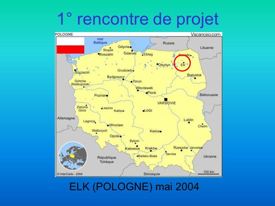 1° rencontre de projet ELK (POLOGNE) mai 2004