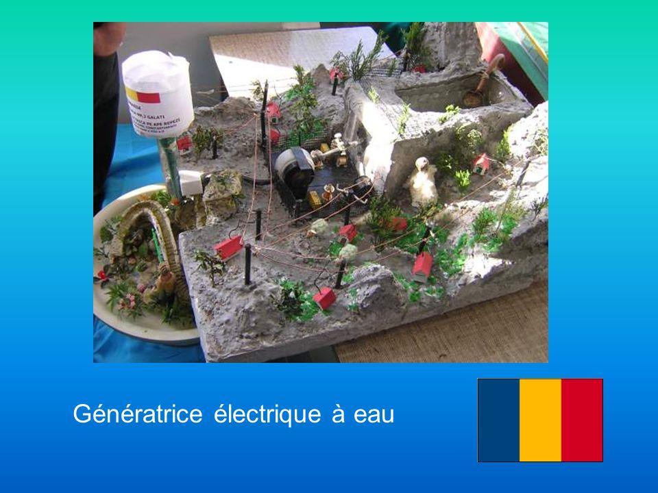 Génératrice électrique à eau