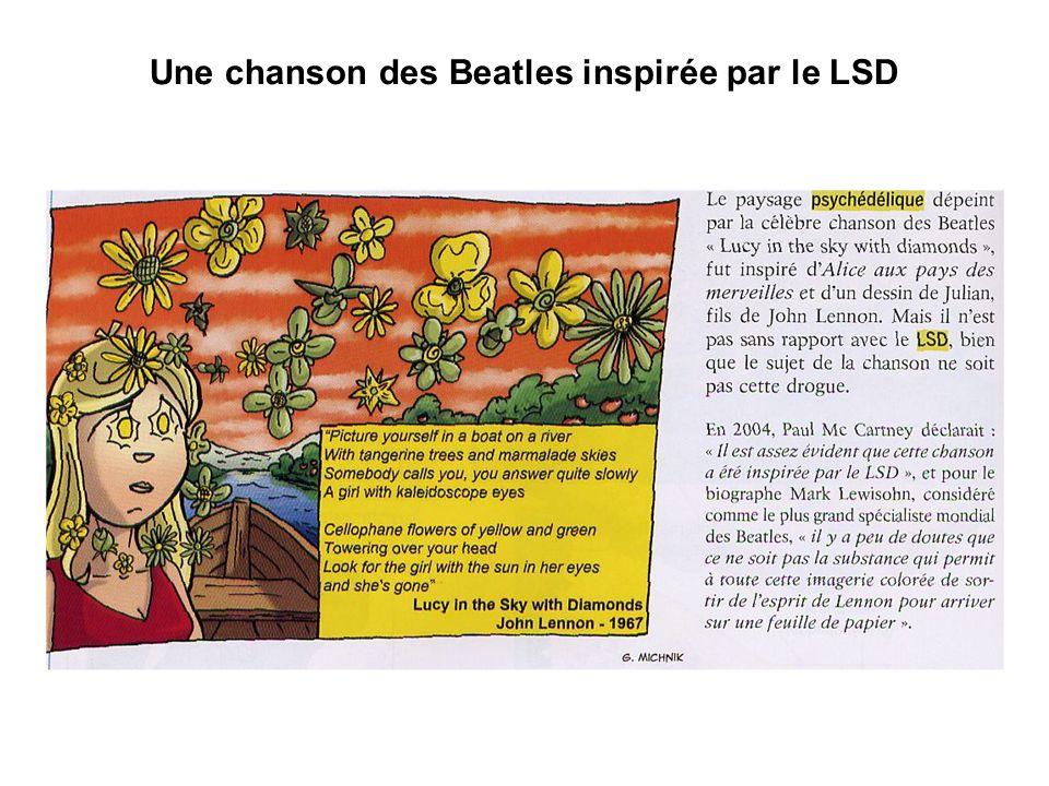 Une chanson des Beatles inspirée par le LSD