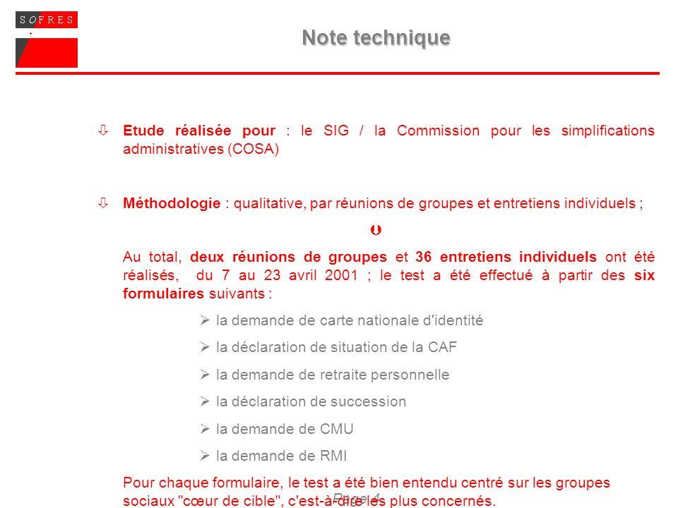 Page 5 SYNTHESE DES PRINCIPAUX ENSEIGNEMENTS DE LA PHASE PILOTE