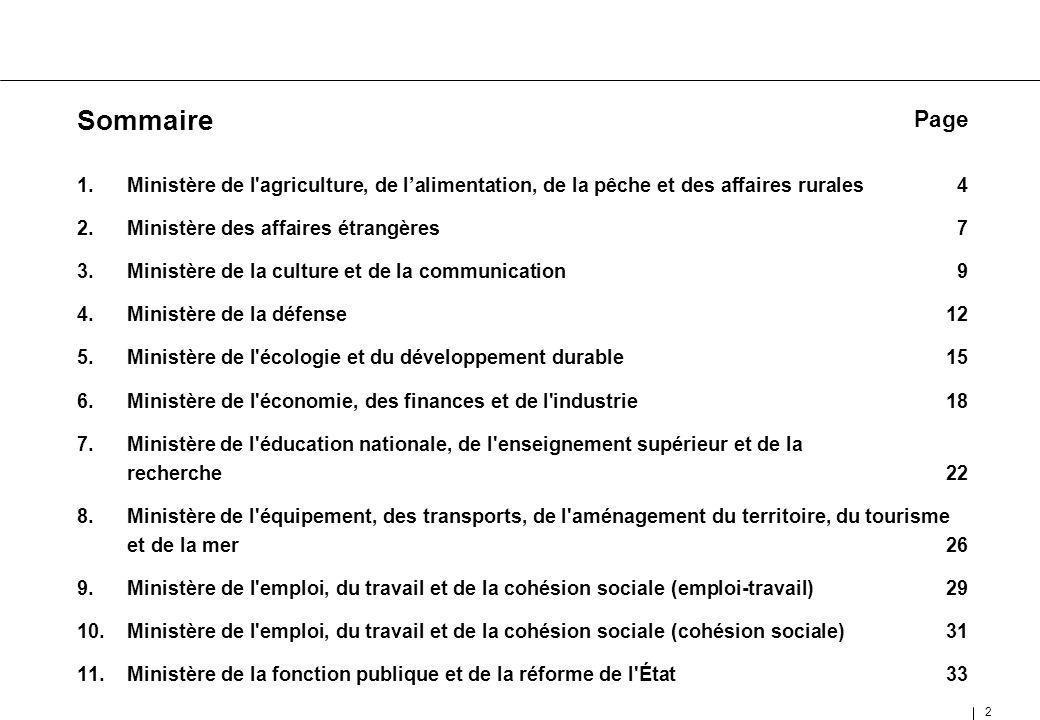 33 11.Ministère de la fonction publique et de la réforme de l État (MFPRE)