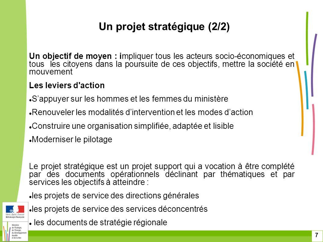 7 Un objectif de moyen : impliquer tous les acteurs socio-économiques et tous les citoyens dans la poursuite de ces objectifs, mettre la société en mo