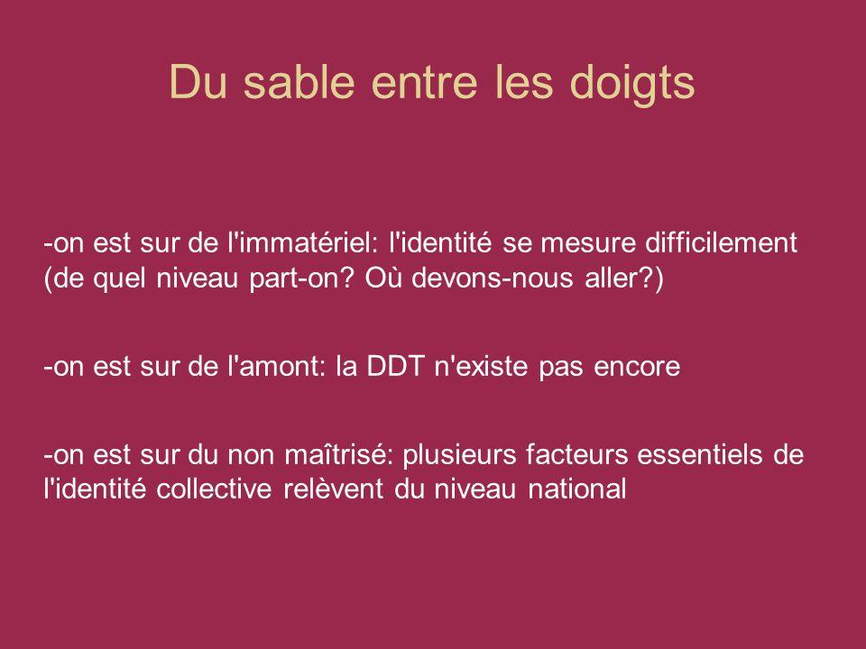 Les outils structurants 2: la communication -Groupe communication transversal -Plan de communication orienté vers la DDT -Intranet DDT -Actions communes