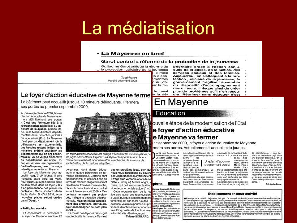 La médiatisation
