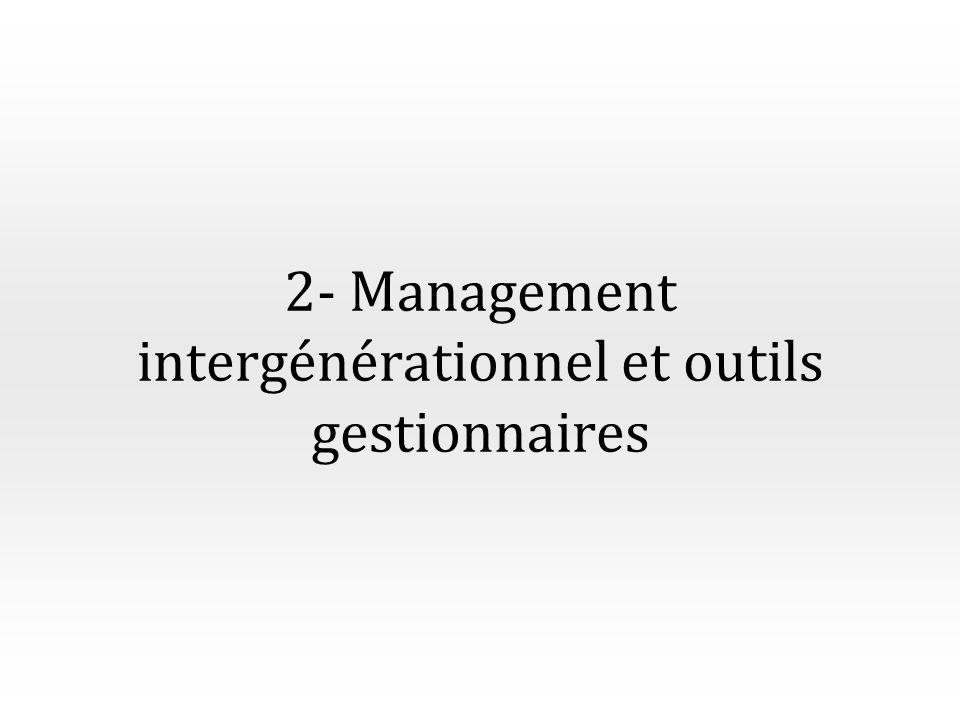 2- Management intergénérationnel et outils gestionnaires