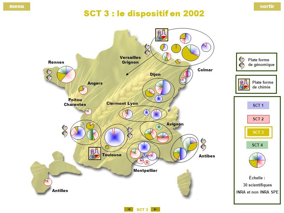 menusortir SCT 3 SCT 3 Gestion, réglementation et effets non intentionnels des méthodes phytosanitaires.