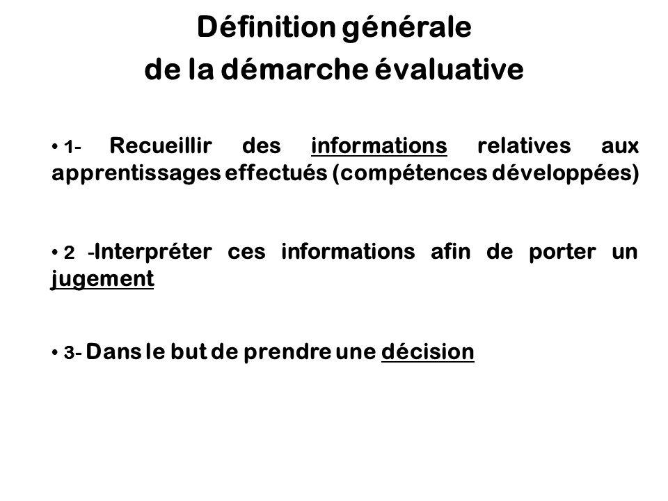 Fondements de lévaluation des apprentissages 2.