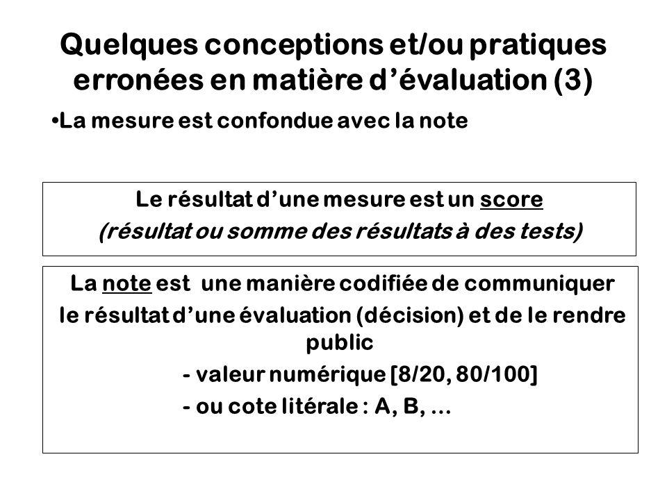 Recommandations à visée didactique Développer les tâches d évaluation autour de scénarios authentiques, possédant un réel niveau de complexité.