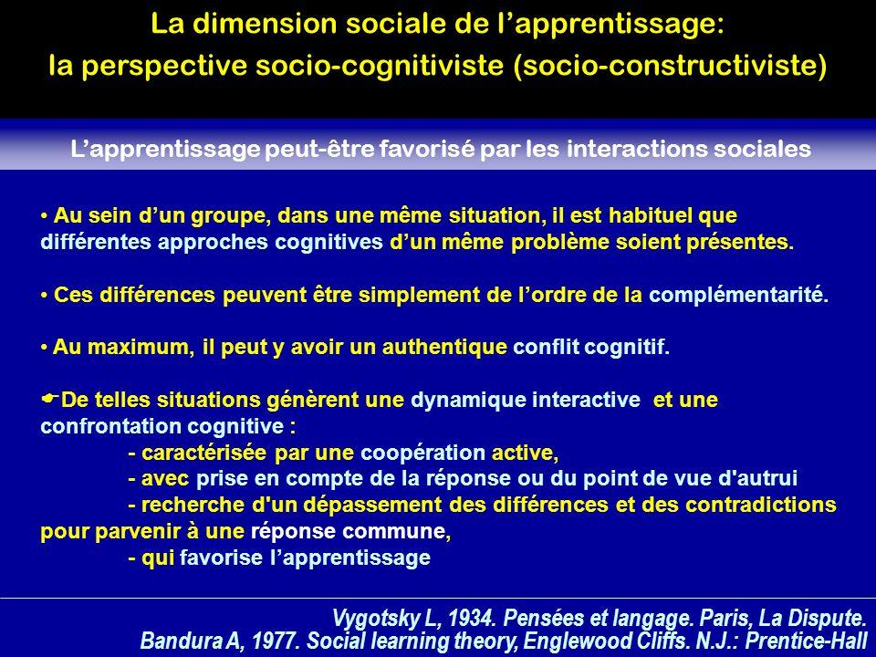 Vygotsky L, 1934.Pensées et langage. Paris, La Dispute.