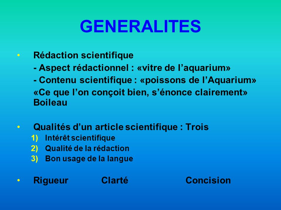 DIFFERENTS TEXTES MEDICAUX Thèse de Doctorat Cas clinique Revue générale Article didactique Article Original Lettre à la rédaction Mise au point Analyse darticle, de livre Structure IMRAD I M R A D