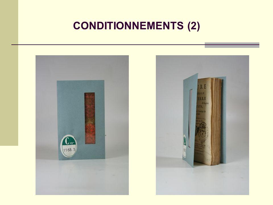 CONDITIONNEMENTS (2)