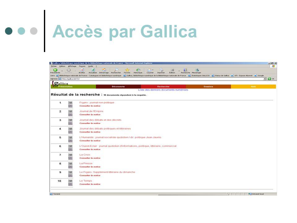 Accès par Gallica