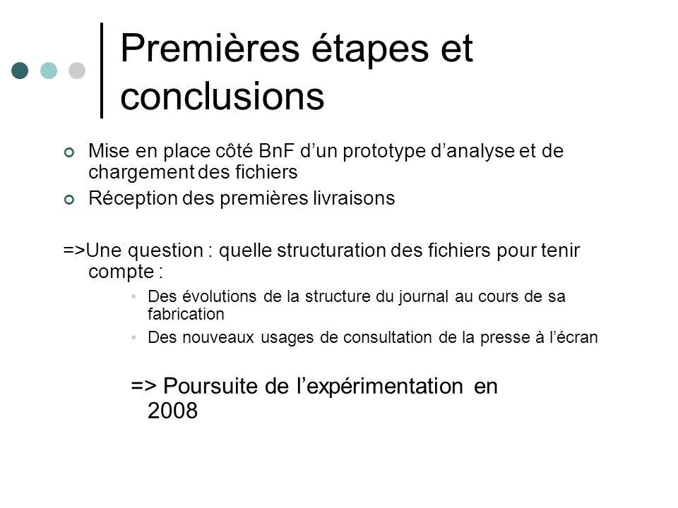Numérisation de Ouest- éclair Numérisation mode image + OCR à charge de la BnF A partir des microfilms de Ouest-France Limitée aux trois éditions principales Caen (1912-1944) : 91 746 p en année 1 : en ligne sept-dec 1912 Nantes (1915-1944) : 105 777 p en année 2 Rennes (1899-1944) : 135 848 p en année 3 Opération en 3 étapes Récollement Numérisation =>mise en ligne OCR