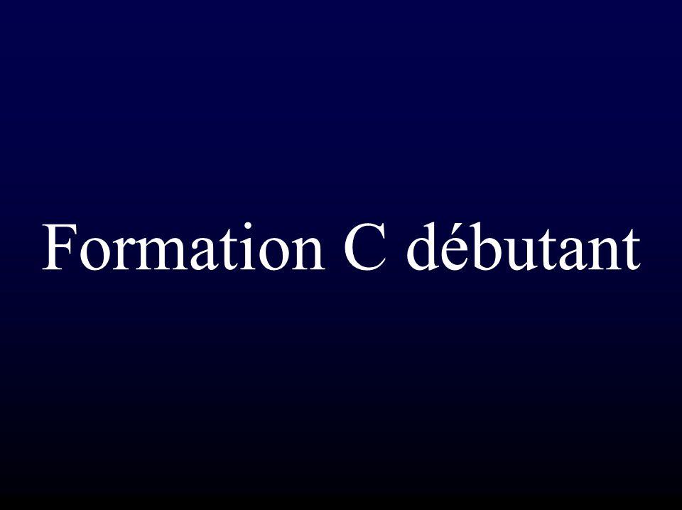 Formation C débutant