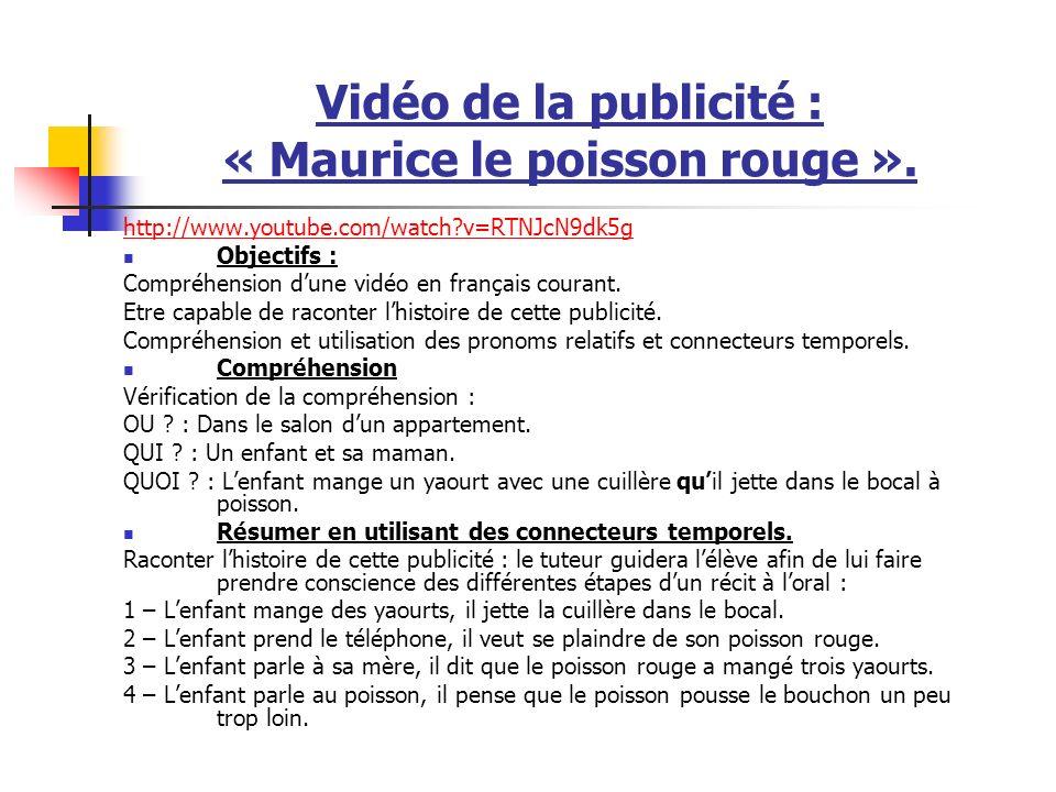 Vidéo : la marche de lempereur http://www.youtube.com/watch?v=fZ_mlwnAmr0&mode=related&searchhttp://www.youtube.com/watch?v=fZ_mlwnAmr0&mode=related&search= version sous-titrée en anglais http://www.youtube.com/watch?v=ZhylxXohoMUhttp://www.youtube.com/watch?v=ZhylxXohoMU version française Objectifs : Compréhension dune vidéo.