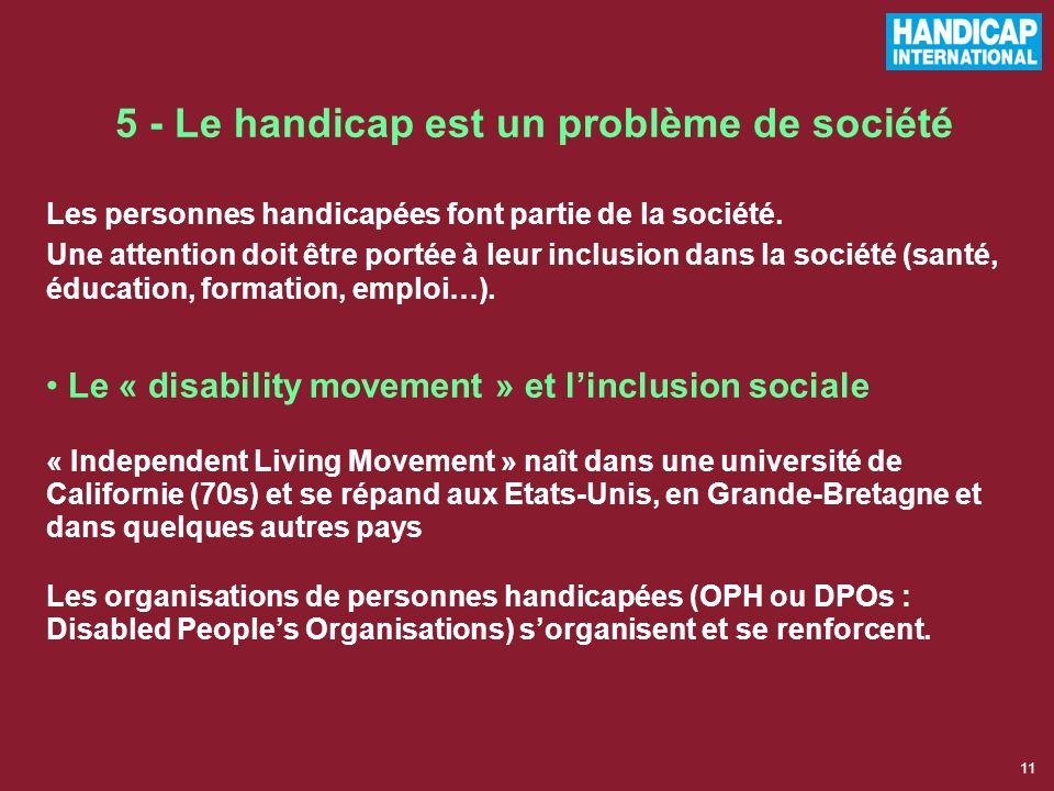 10 4 - Réparer les personnes « cassées » Débuts de la réadaptation fonctionnelle (après 2 guerres mondiales) Mutilés, blessés, invalides de guerre : l