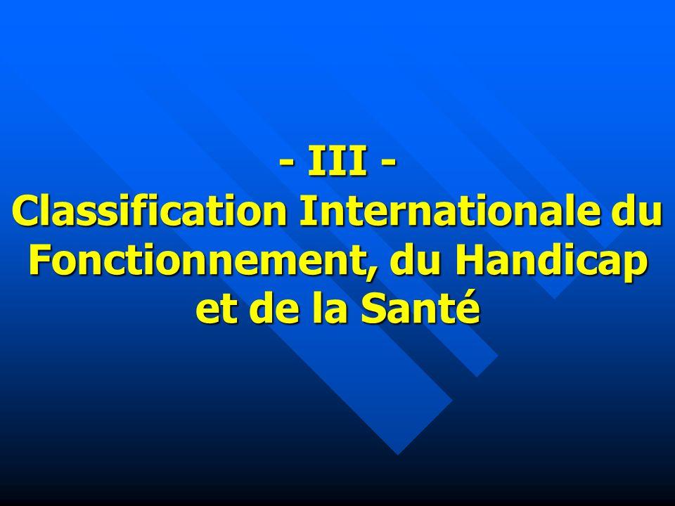 Organisation Mondiale de la Santé La CIF Nouveau membre de La famille des Classifications Internationales de lOMS www.who.int/classification/icf CTNERHI/CCOMS/CIF/2003