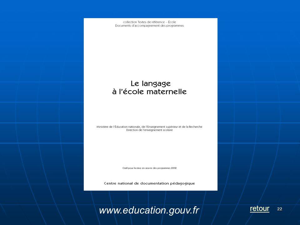 22 retour www.education.gouv.fr