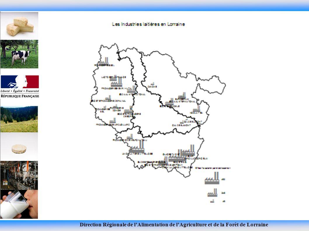 Direction Régionale de lAlimentation de lAgriculture et de la Forêt de Lorraine