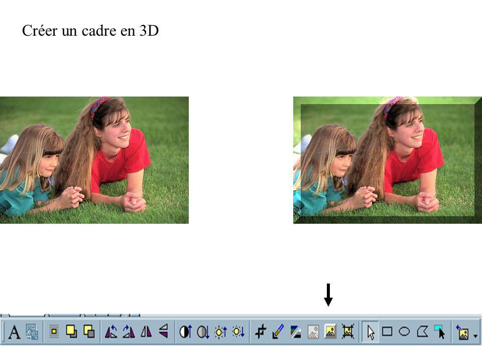 Créer un cadre en 3D