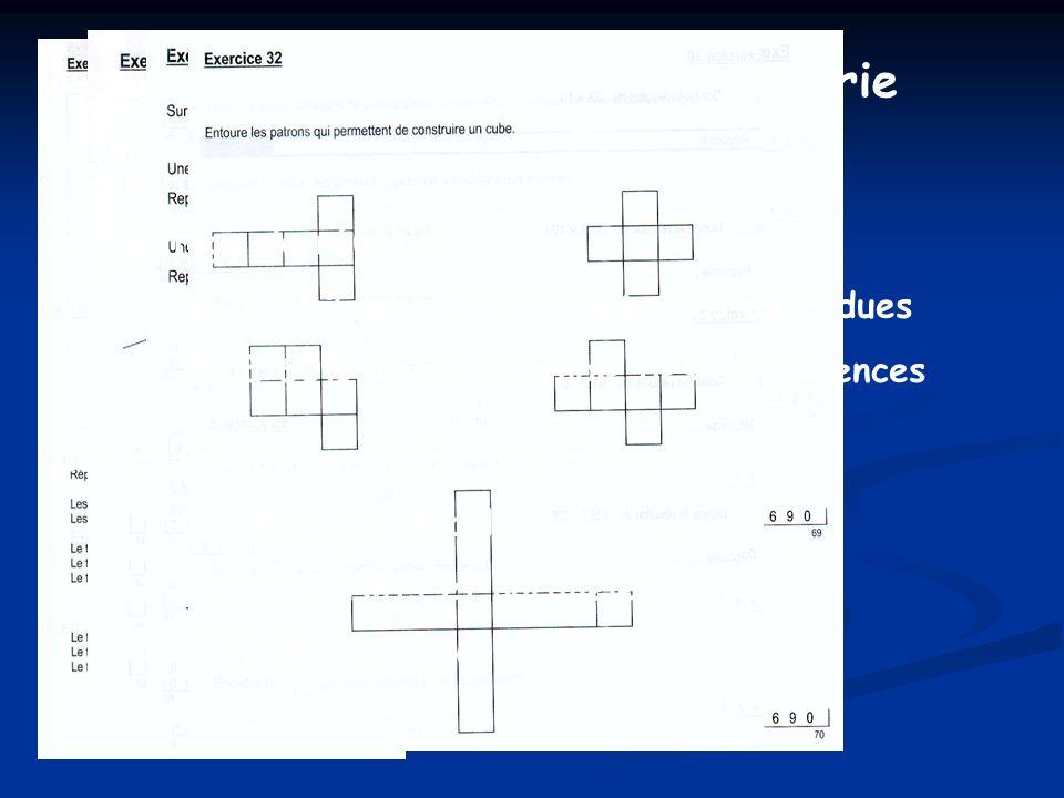 Les modes de résolution dun problème de géométrie Le plus court chemin Quel est le plus court chemin de la maison A à la maison B en prenant de leau dans la rivière?