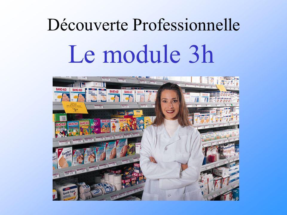 Découverte Professionnelle Le module 3h