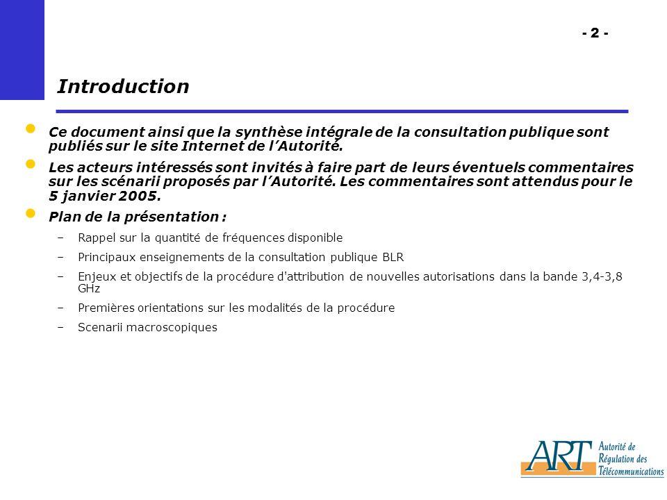- 2 - Introduction Ce document ainsi que la synthèse intégrale de la consultation publique sont publiés sur le site Internet de lAutorité.