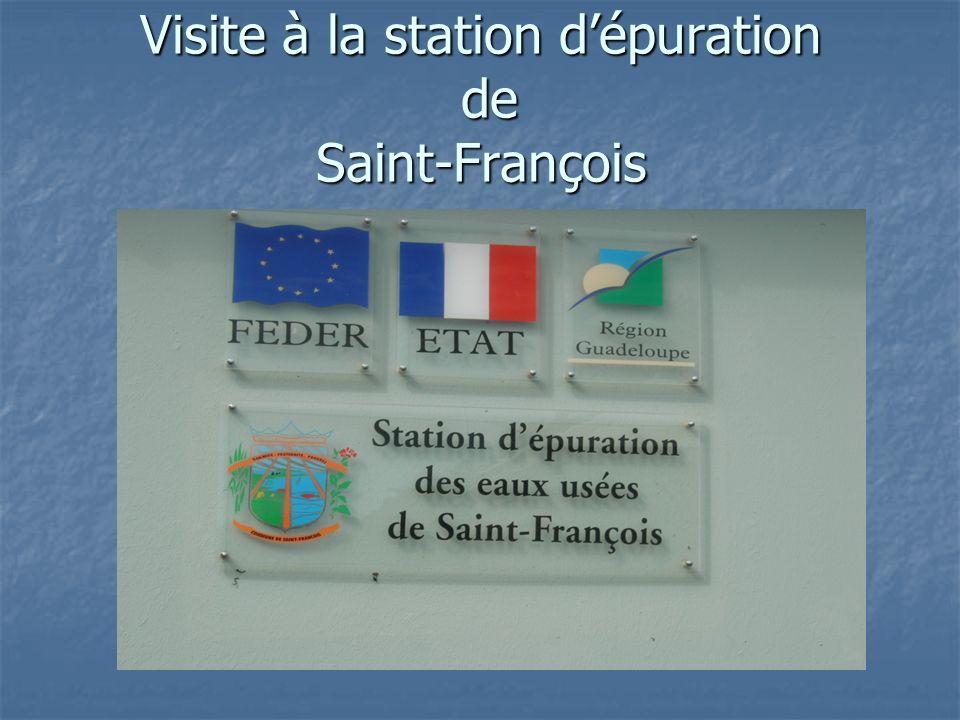 Visite à la station dépuration de Saint-François