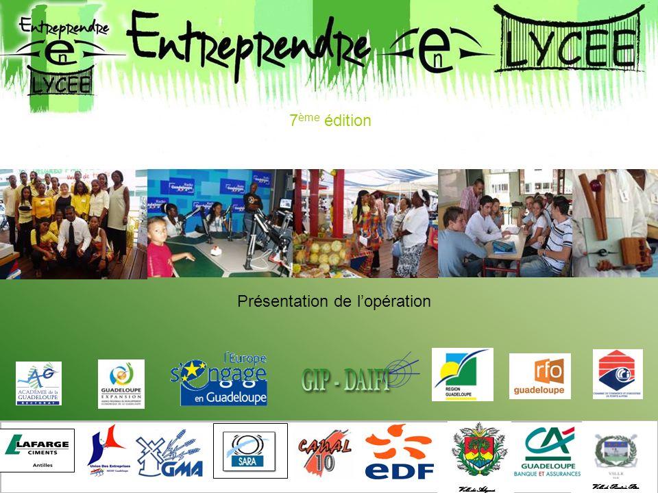 Lopération Entreprendre en lycée est une démarche pédagogique qui consiste à simuler pendant une année scolaire, le fonctionnement dune entreprise, de sa naissance à larrêt de son activité.