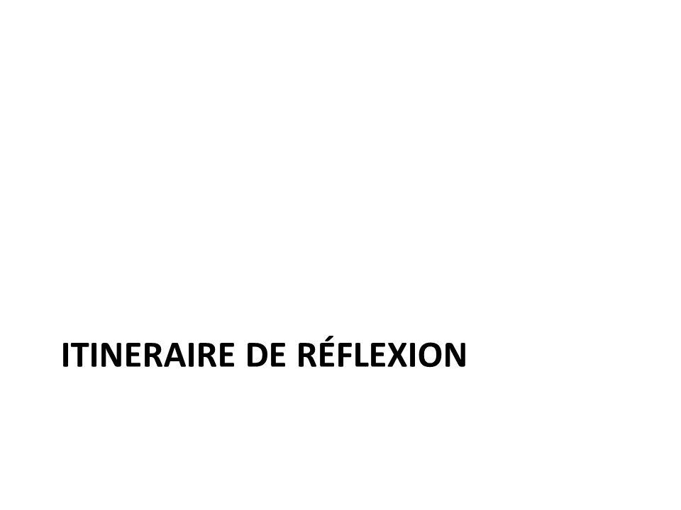 ITINERAIRE DE RÉFLEXION
