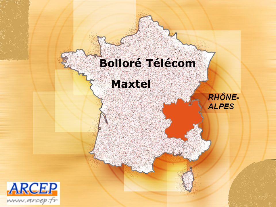 Bolloré Télécom SHD PROVENCE-ALPES - COTE DAZUR