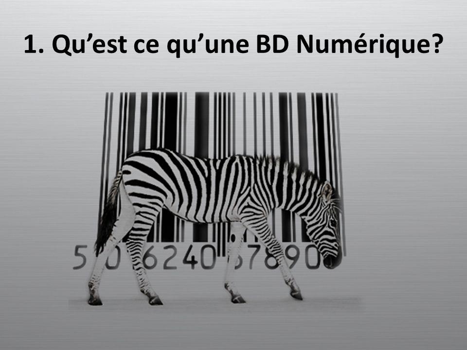 1. Quest ce quune BD Numérique?