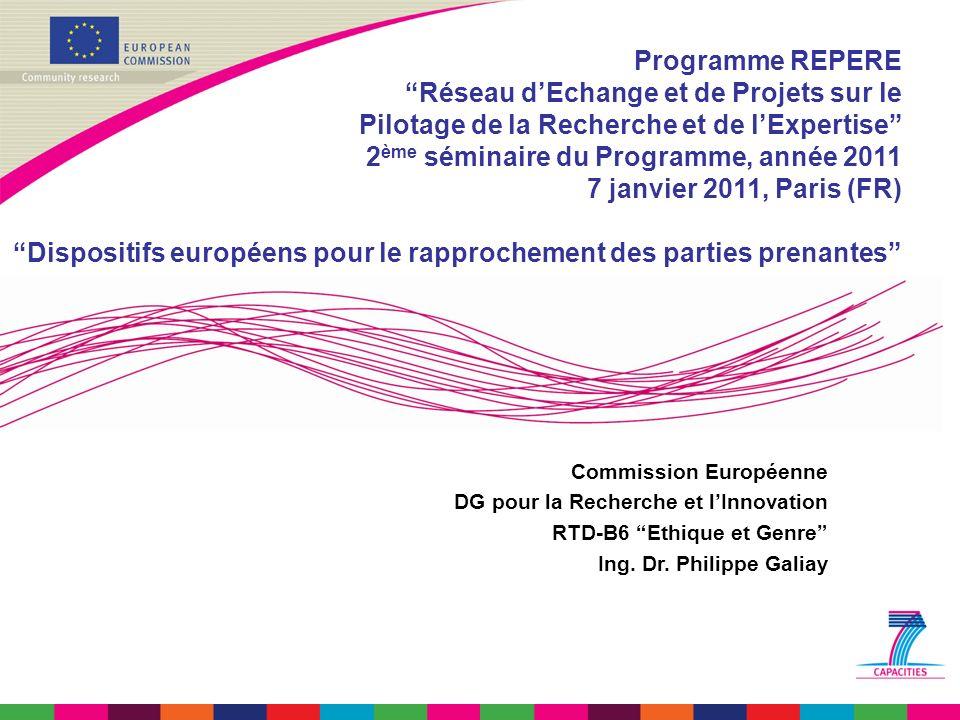 1.Science, société et citoyens en Europe: 2000-2020 2.Engagement: Instrumental.