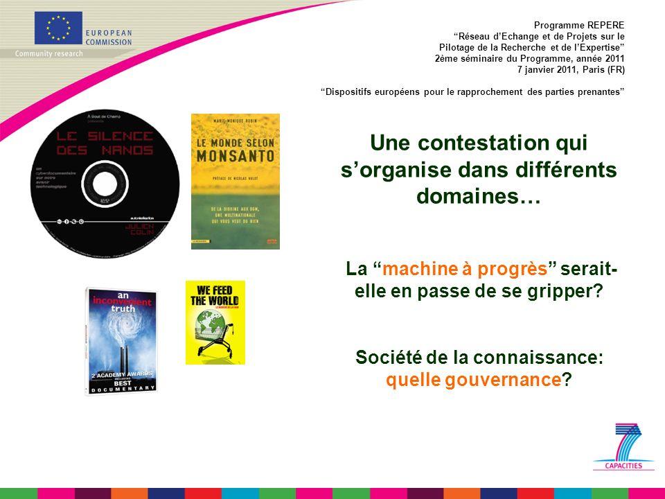 1.Science, société et citoyens en Europe: 2000-2020 2.Engagement sociétal: Instrumental.