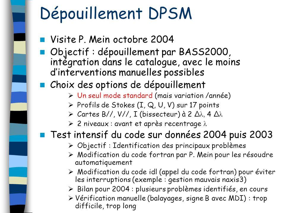 Dépouillement DPSM Visite P.