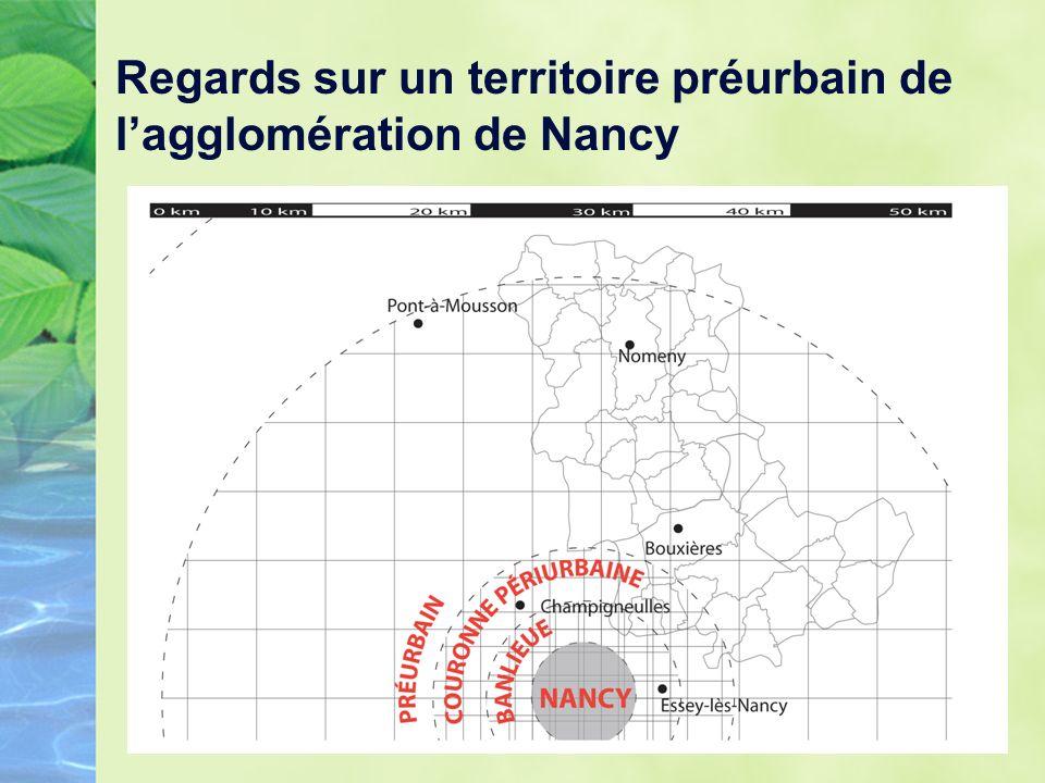 Regards sur un territoire préurbain de lagglomération de Nancy