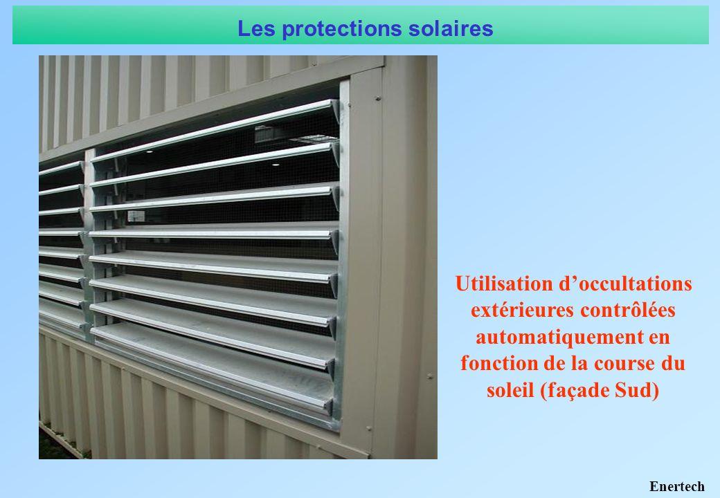 1.1 Chauffage et rafraîchissement 1.1.4 Réduire a minima les besoins de refroidissement : le problème du confort dété 1 – Réduire la taille des surfaces vitrées Sv/Sutile = 21 % Quelle stratégie pour le confort dété.
