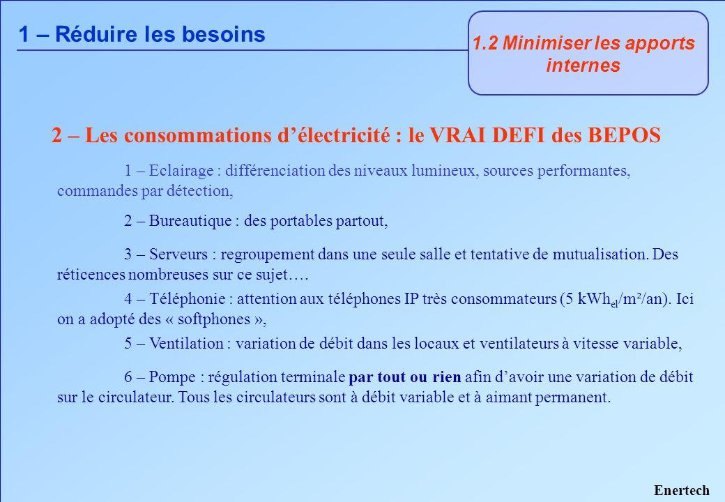 A - La conception générale 2 - Un système thermique performant