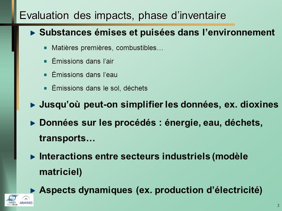 13 Résultats de lanalyse de cycle de vie Base : impacts environnementaux réduits sauf éco-toxicité et toxicité humaine (chaudière bois) Meilleures pratiques, réduction de tous les impacts